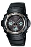 Casio Men's AWG100-1A G-Shock Multi-Band Solar Atomic Analog Watch
